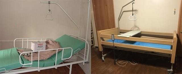 Как облегчить труд сиделки, приобретя специальную медицинскую кровать