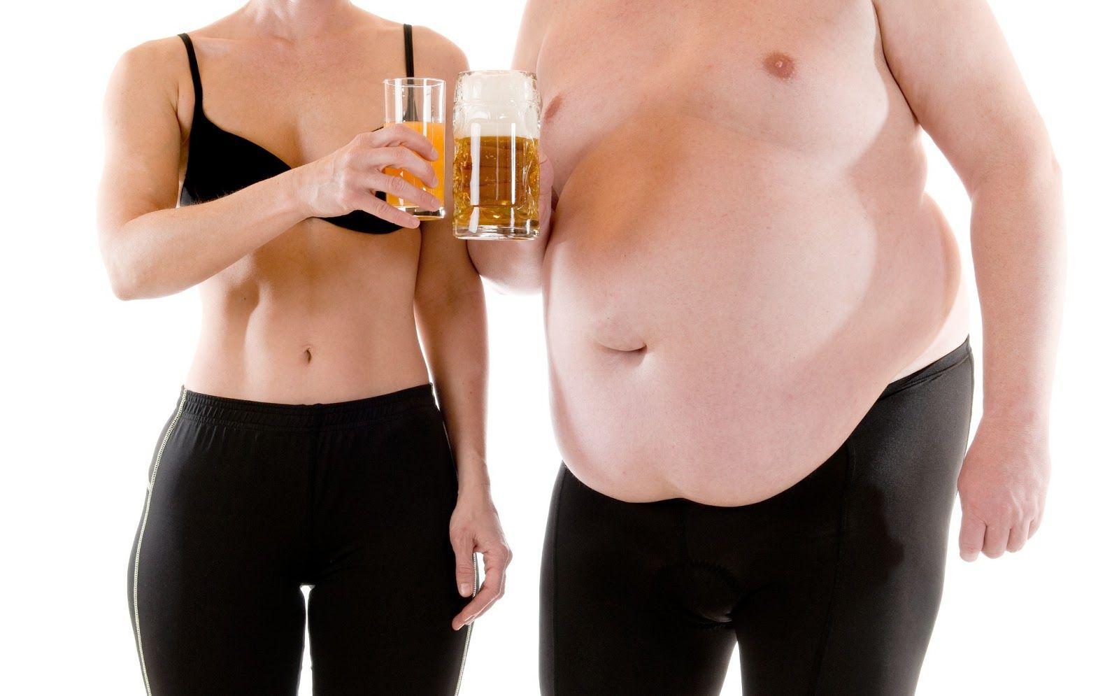 Как в действительности алкоголь влияет на нашу фигуру?