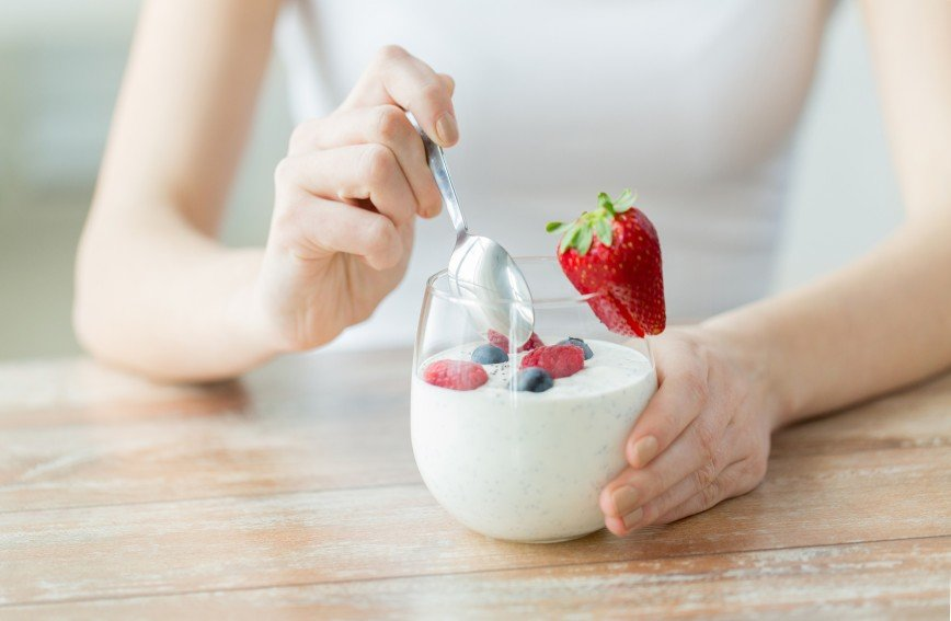 Регулярное употребление йогурта снижает кровяное давление